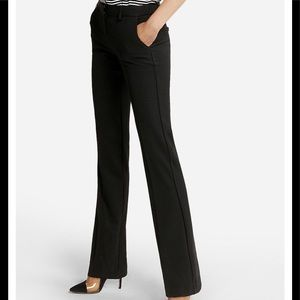 """Express black """"Editor"""" trousers"""